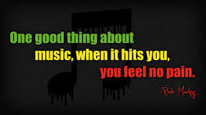 No Pain Music Quote